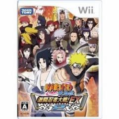 [100円便OK]【中古】【Wii】NARUTO-ナルト-疾風伝 激闘忍者大戦!EX2[お取寄せ品]