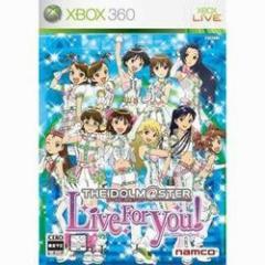 [100円便OK]【新品】【Xbox360】【通】アイドルマスター Live for YOU! 通常版[お取寄せ品]