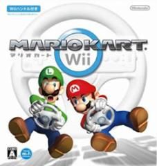 【新品】【Wii】マリオカートWii(Wiiハンドル同梱)[在庫品]