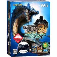 【新品】【Wii】モンスターハンター3クラシックコントローラPRO【クロ】パック[お取寄せ品]