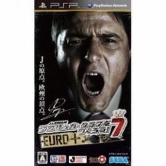 [100円便OK]【新品】【PSP】J.LEAGUE プロサッカークラブをつくろう!7 EURO PLUS[お取寄せ品]