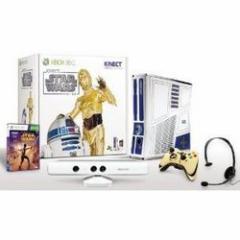 【新品】【Xbox360HD】Xbox360 スターウォーズリミテッドエディション【本体+キネクト同梱】[在庫品]