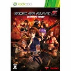 【新品】【Xbox360】【限】DEAD OR ALIVE5 コレクターズエディション[お取寄せ品]