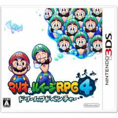 [100円便OK]【新品】【3DS】マリオ&ルイージRPG4 ドリームアドベンチャー[お取寄せ品]