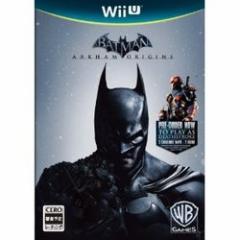 [100円便OK]【中古】【WiiU】バットマン:アーカム・ビギンズ[お取寄せ品]