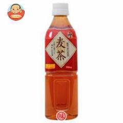 【送料無料】富永貿易 神戸茶房 麦茶 500mlPET×24本入