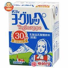 【送料無料】南日本酪農協同 デーリィ ヨーグルッペ 200ml紙パック×24本入