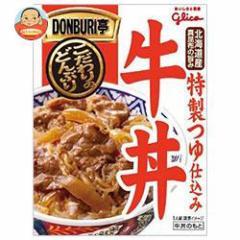 【送料無料】グリコ DONBURI亭 牛丼 160g×30個入