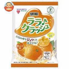 【送料無料】マンナンライフ 蒟蒻畑 ララクラッシュ オレンジ味【特定保健用食品 特保】 24g×8個×12袋入
