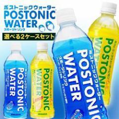 【送料無料】サンガリア ポストニックウォーター 500mlペットボトル 選べる2ケースセット 500mlペットボトル×48(24×2)本入