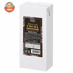 【送料無料】【2ケースセット】UCC HOLLAND COCOA(オランダココア) 1000ml紙パック×6本入×(2ケース)