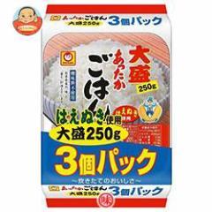 【送料無料】東洋水産 あったかごはん 大盛 3個パック (250g×3個)×8個入
