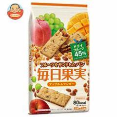【送料無料】グリコ 毎日果実 アップル&マンゴー 15枚(3枚×5袋)×5個入