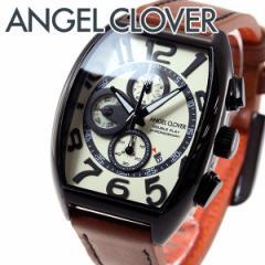 エンジェルクローバー Angel Clover 腕時計 メンズ ダブルプレイ クロノグラフ DP38BSB-LB