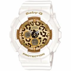 CASIO BABY-G カシオ ベビーG レオパード 腕時計 レディース ホワイト アナデジ BA-120LP-7A2JF