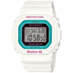 CASIO BABY-G カシオ ベビーG Tripper トリッパー 電波 ソーラー 電波時計 腕時計 レディース ホワイト デジタル BGD-5000-7BJF