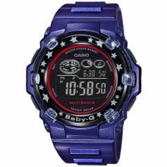 CASIO BABY-G カシオ ベビーG Tripper トリッパー ソーラー 電波時計 腕時計 レディース ブルー×ブラック BGR-3000GS-2JF