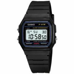 CASIO カシオ スタンダード 腕時計 ブラック デジタル F-91W-1JF