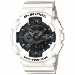 カシオ Gショック CASIO G-SHOCK ホワイト&ブラック 腕時計 メンズ アナデジ GA-110GW-7AJF