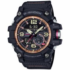 カシオ Gショック マッドマスター CASIO G-SHOCK MUDMASTER 腕時計 メンズ ヴィンテージブラック&ゴールド アナデジ GG-1000RG-1AJF