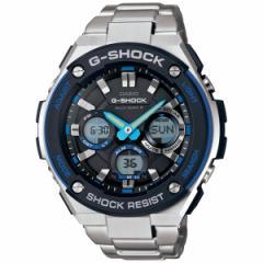 カシオ Gショック Gスチール CASIO G-SHOCK G-STEEL 電波 ソーラー 電波時計 腕時計 メンズ アナデジ タフソーラー GST-W100D-1A2JF