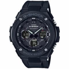 カシオ Gショック Gスチール CASIO G-SHOCK G-STEEL 電波 ソーラー 電波時計 腕時計 メンズ ブラック タフソーラー GST-W100G-1BJF