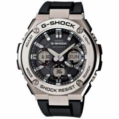 カシオ Gショック Gスチール CASIO G-SHOCK G-STEEL 電波 ソーラー 電波時計 腕時計 メンズ アナデジ GST-W110-1AJF