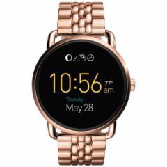フォッシル FOSSIL Q スマートウォッチ ウェアラブル Q WANDER Qワンダー 腕時計 メンズ/レディース FTW2112