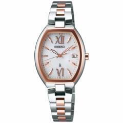 セイコー ルキア SEIKO LUKIA 電波 ソーラー 電波時計 腕時計 レディース レディ・トノー Lady Tonneau 綾瀬はるか SSQW028