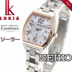 セイコー ルキア SEIKO LUKIA ソーラー 腕時計 レディース 綾瀬はるかイメージキャラクター SSVN026