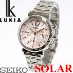 セイコー ルキア SEIKO LUKIA ソーラー 腕時計 レディース クロノグラフ 綾瀬はるかイメージキャラクター SSVS015