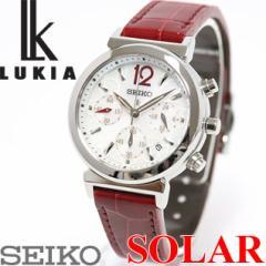 セイコー ルキア SEIKO LUKIA ソーラー 腕時計 レディース クロノグラフ 綾瀬はるかイメージキャラクター SSVS017