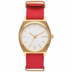 ニクソン NIXON タイムテラー TIME TELLER 腕時計 メンズ/レディース ゴールド/ホワイト/レッド NA0452439-00