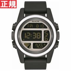 ニクソン NIXON ユニット UNIT 腕時計 デジタル メンズ ブラック/ホワイト/シルバー NA1972557-00