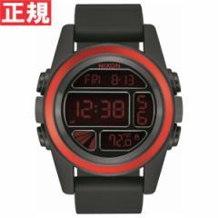 ニクソン NIXON ユニット UNIT 腕時計 デジタル メンズ ブラック/レッド/ブラック NA1972558-00