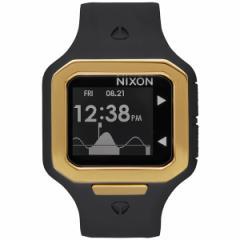 ニクソン NIXON スーパータイド SUPERTIDE 限定モデル 腕時計 メンズ オールブラック/ゴールド NA3161031-00