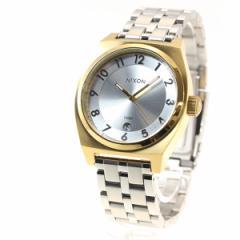 ニクソン NIXON モノポリー MONOPOLY 腕時計 レディース ゴールド/シルバー/シルバー NA3252062-00
