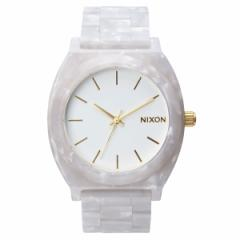 ニクソン NIXON タイムテラーアセテート TIME TELLER ACETATE 日本限定モデル 腕時計 ホワイトグラニット/ゴールド NA3272031-00