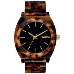 ニクソン NIXON タイムテラーアセテート TIME TELLER ACETATE 限定モデル 腕時計 レディース/メンズ トートイズ/ゴールド NA3272513-00