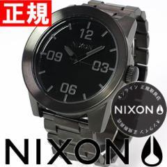 ニクソン NIXON コーポラルSS CORPORAL SS 腕時計 メンズ オールブラック NA346001-00