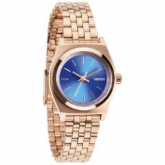ニクソン NIXON スモールタイムテラー SMALL TIME TELLER 腕時計 レディース ローズゴールド/コバルト NA3991748-00