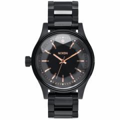 ニクソン NIXON ファセット38 FACET 38 腕時計 レディース オールブラック/ローズゴールド NA409957-00