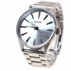 ニクソン NIXON セントリー38 SS SENTRY 38 SS 腕時計 メンズ/レディース オールシルバー NA4501920-00