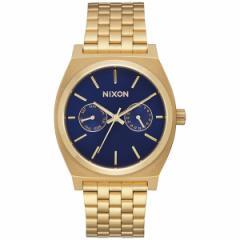 ニクソン NIXON タイムテラーデラックス TIME TELLER DELUXE 腕時計 メンズ/レディース オールゴールド/ネイビーサンレイ NA9222347-00