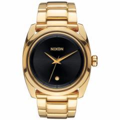 ニクソン NIXON クイーンピン QUEENPIN 腕時計 レディース オールゴールド/ブラック NA935510-00