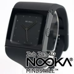 NOOKA ヌーカ 腕時計 ZUB40 ZAN BLACK ブラック アナログ 時計