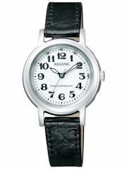 シチズン レグノ CITIZEN REGUNO ソーラー 電波時計 腕時計 レディース クラシック ストラップ KL4-711-10