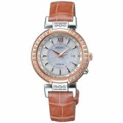 セイコー エクセリーヌ SEIKO EXCELINE 電波 ソーラー 電波時計 腕時計 レディース プレステージライン SWCW112