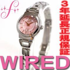セイコー ワイアード エフ SEIKO WIRED f ソーラー 腕時計 レディース AGED050