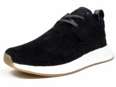 """adidas NMD C2 """"BLACK SUEDE"""" """"LIMITED EDITION"""" BLK/WHT/GUM (BY3011)"""